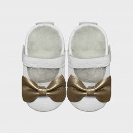 mary jane big bow white w