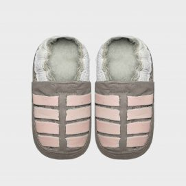 sandal mid grey and pink ..