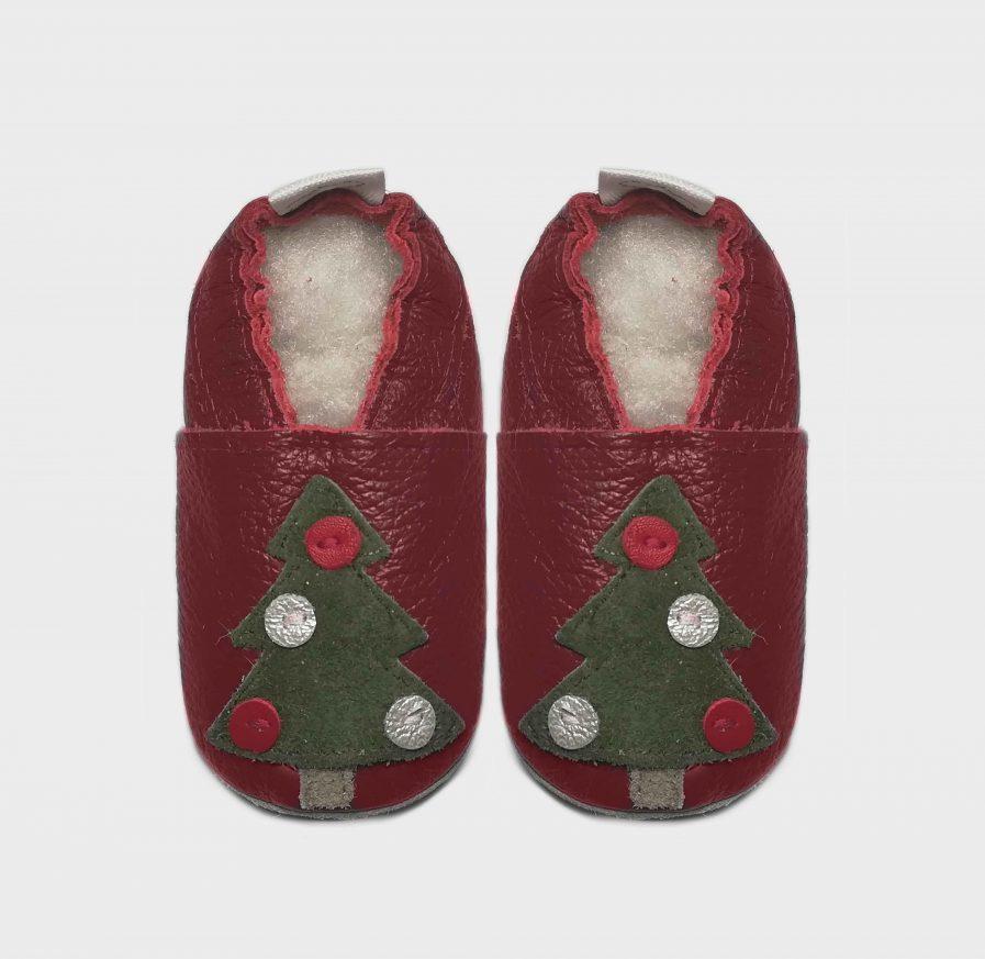 christmas tree red c