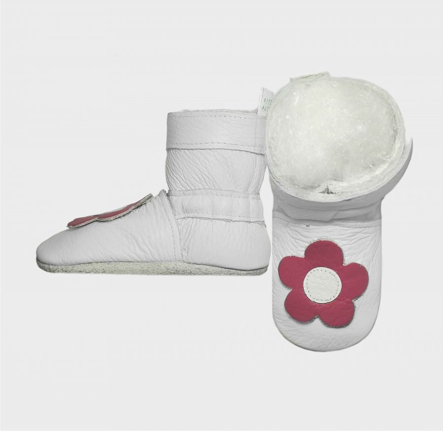 boot daisy white side w