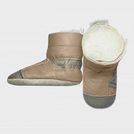 boot combat stone side