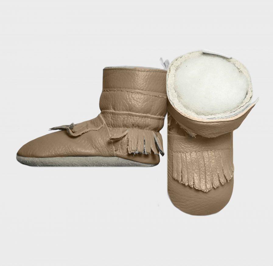 boot tissle tassle stone side