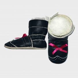 boot little bo navy side