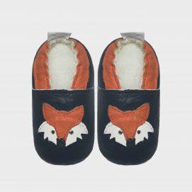 fox shoe navy