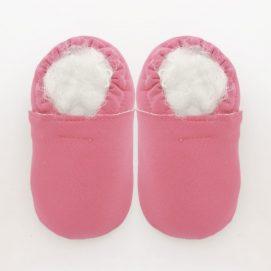 slipper ss dusty rose pink