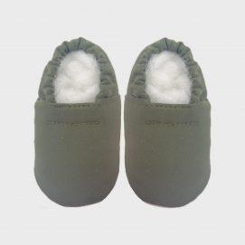 slipper ss olive green